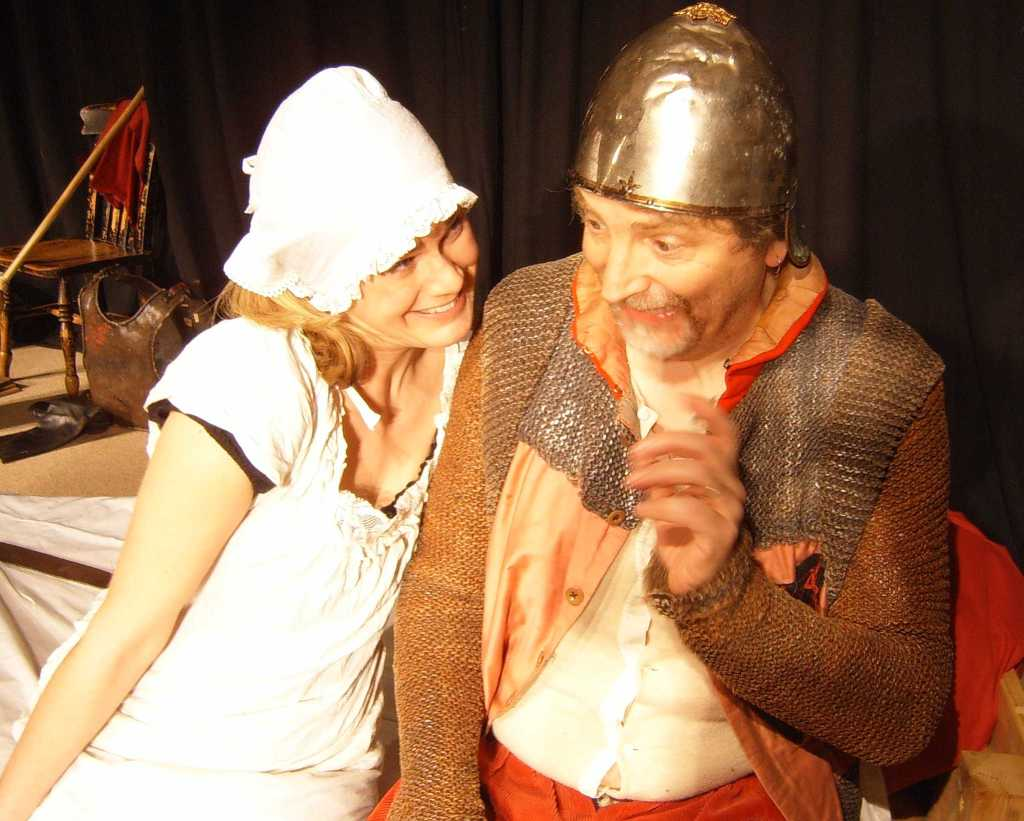 Don Quixote and Dulcinea